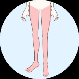 新宿マリアクリニックの脚脱毛