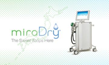 ミラドライは厚生労働省の薬事承認を取得したわき汗治療機器