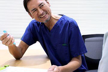 新宿マリアクリニックのわきが手術の流れ①カウンセリング・診察
