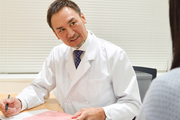 新宿マリアクリニックはわきが治療の前のカウンセリングを重視しています。